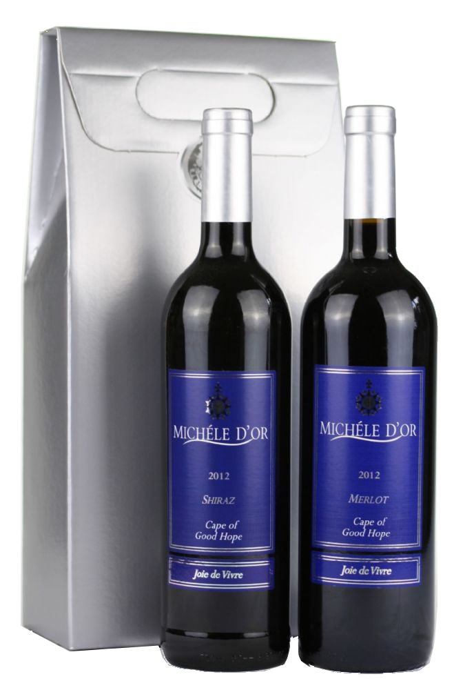 Michele d'or Twin Wine Gift Pack
