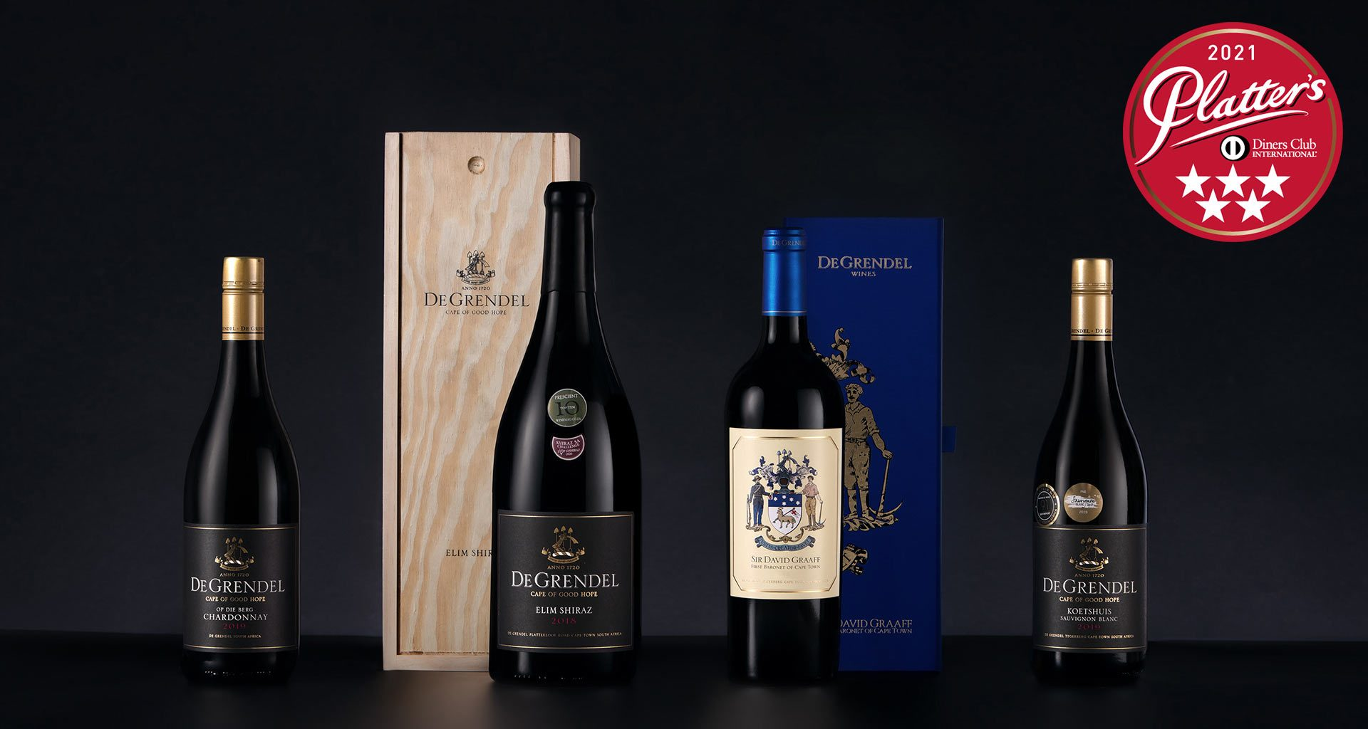 Ge Grendel 5 Star Wines available from L=K and L Wines